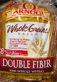 Arnold's WholeGrains Bread w/Double Fiber & 100% Whole Wheat