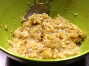 Bowl of High-Fiber Cinnamon Brown Sugar Oatmeal (Good Carbs)!
