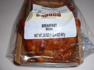 Publix Breakfast Bread