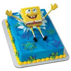 "SpongeBob ""Bendy"" Cake"