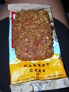 "Carrot Cake ""Cliff"" Bar"