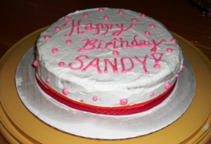 Happy Birthday Sandy (Cake)