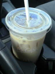 McDonald's Sugar Free Vanilla Iced Coffee (Large)