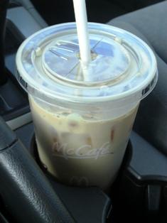 McDonald's Sugar Free Vanilla Iced Coffee (Large)