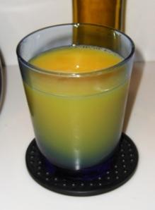 Glass of Orange Juice (Vitamin C)!