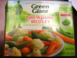 Green Giant - Baby Vegetable Medley