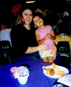 May 2003 (Me @ 245+ Pounds & My Daughter)