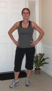 October 2009 (Me @ 142 Pounds) - 105 POUNDS LOST!!!
