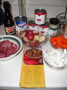 Beef Stew Prep