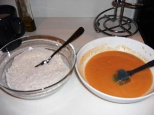 Pumpkin Pancakes (Step 3)