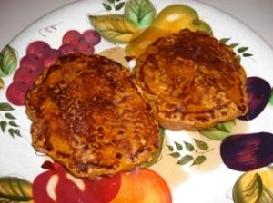 Pumpkin Pancakes (Ready To Eat!!!)