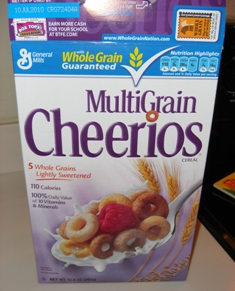 Tuesday 11.3.09 - Multi Grain Cheerios