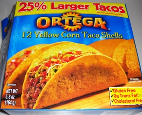 Wednesday 11.4.09 - Taco Shell Box