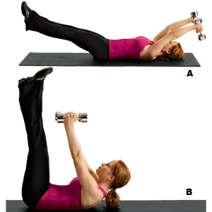 Straight Leg Pullover Crunch Finding A Healthy Balance